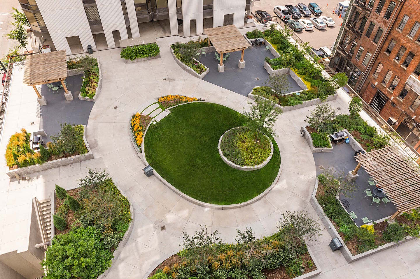 Barclay Towers The Garden Plaza Lime Green Design Lime